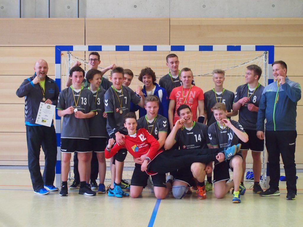 männliche Jugend A - Bezirksmeister 2016